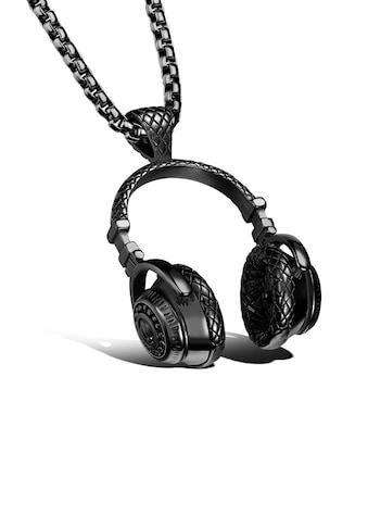 Firetti Kette mit Anhänger »Kopfhörer, strukturiert« kaufen