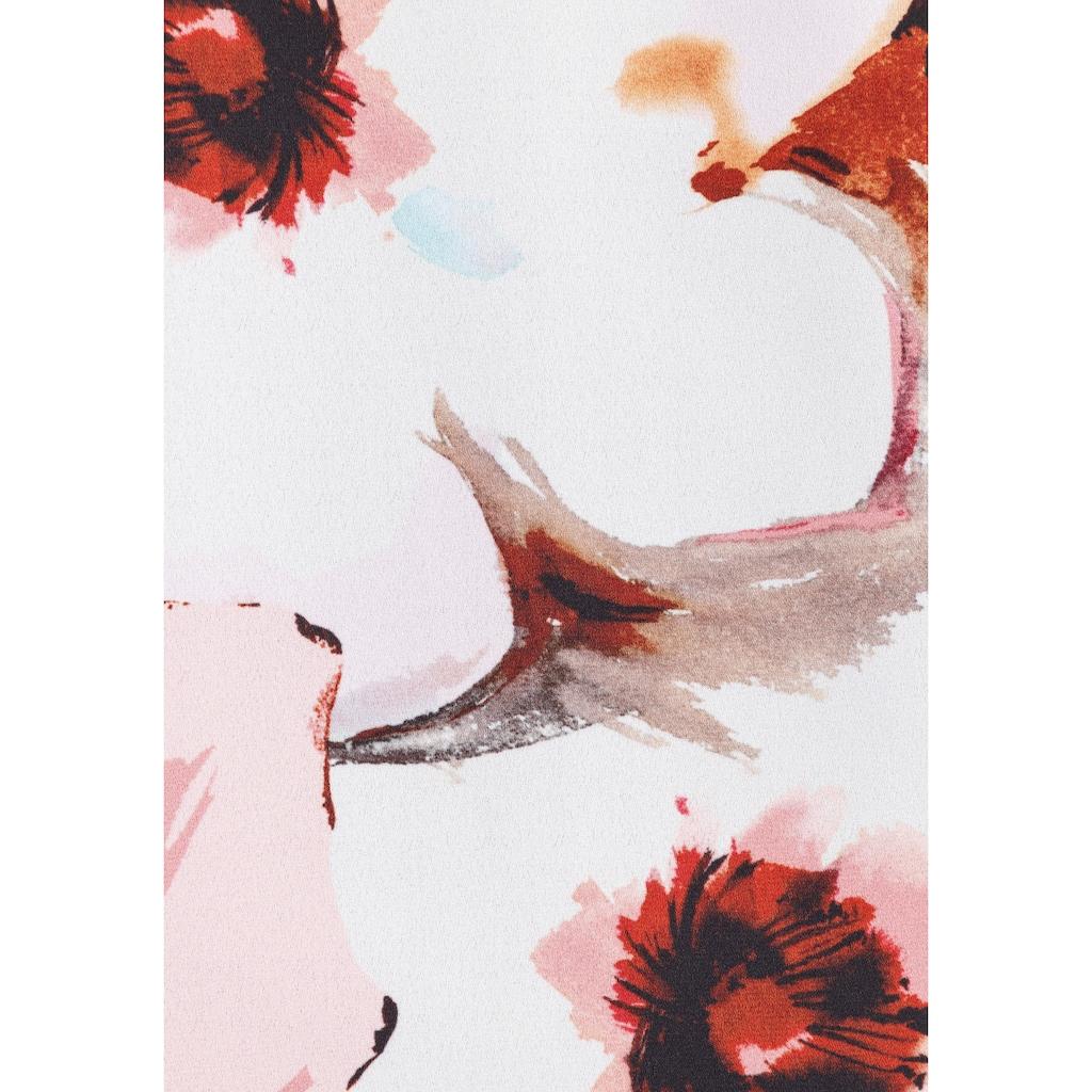 select! By Hermann Lange Blusenshirt »Grazia«, im Lagenlook mit floralem Print