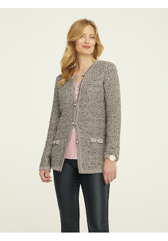 ASHLEY BROOKE by Heine Longstrickjacke, mit Effektgarn kaufen