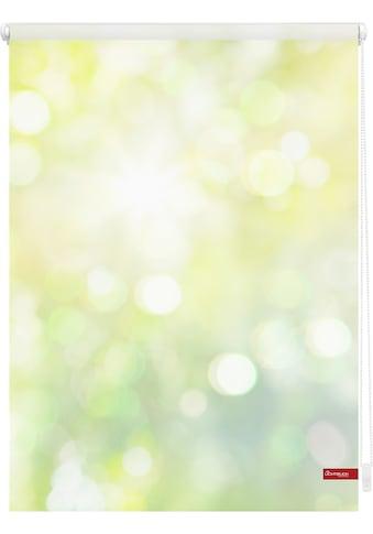 LICHTBLICK Seitenzugrollo »Klemmfix Motiv Lichtspiel«, Lichtschutz, ohne Bohren,... kaufen