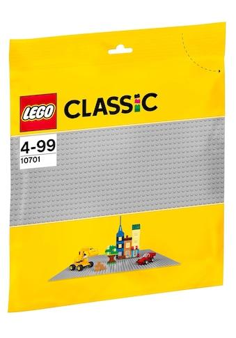 """LEGO® Konstruktionsspielsteine """"Graue Grundplatte (10701), LEGO® Classic"""", Kunststoff, (1 - tlg.) kaufen"""