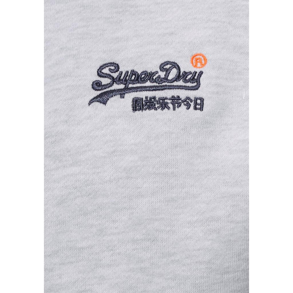 Superdry Kapuzensweatjacke »Orange Label Ziphood«