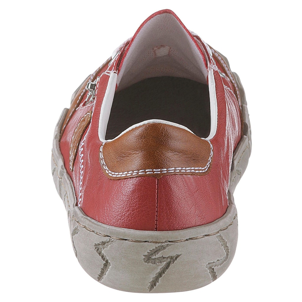 Rieker Sneaker, mit Zierreissverschluss