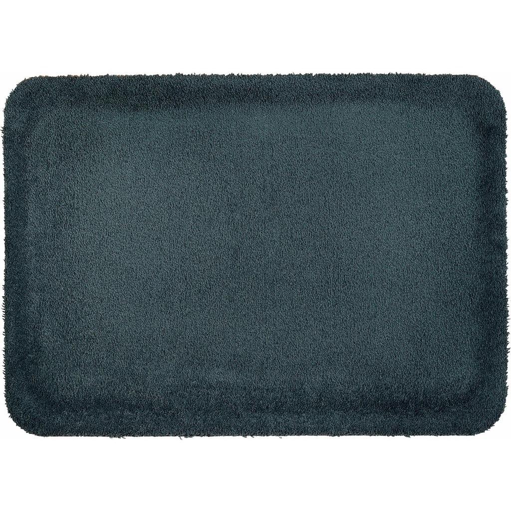 wash+dry by Kleen-Tex Fussmatte »Stand on Uni«, rechteckig, 21 mm Höhe, Schmutzfangmatte