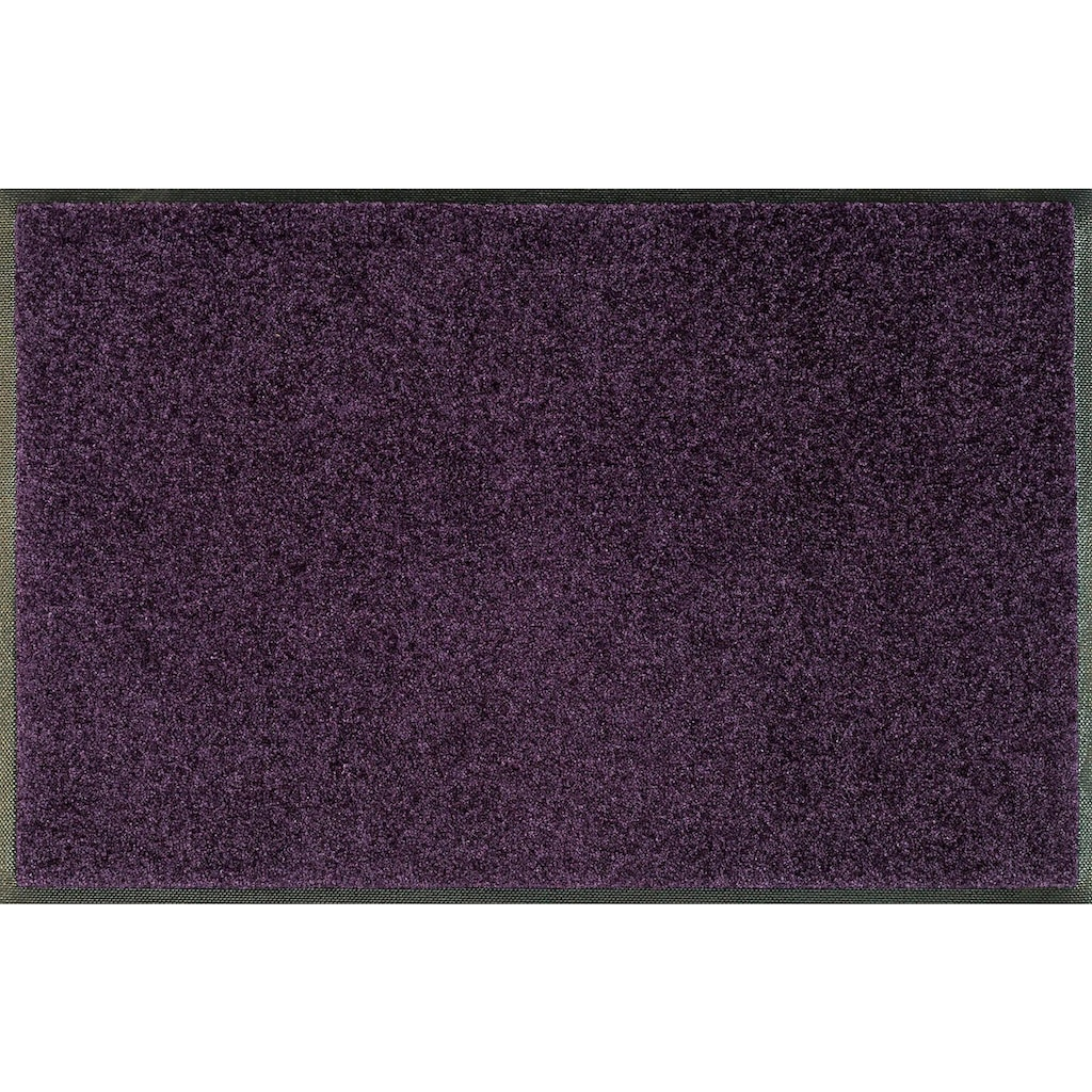 wash+dry by Kleen-Tex Fussmatte »Trend Uni«, rechteckig, 7 mm Höhe, Schmutzfangmatte, In- und Outdoor geeignet, waschbar
