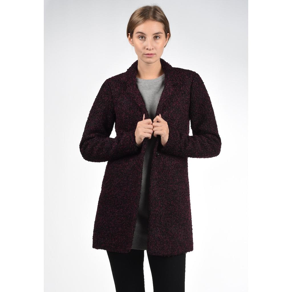 JACQUELINE de YONG Kurzmantel »Berta«, Mantel aus warmer Boucle-Qualität
