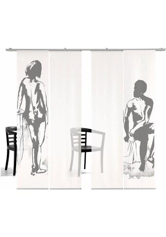 emotion textiles Schiebegardine »Mann/Frau TR«, HxB: 260x60, inkl. Befestigungszubehör kaufen