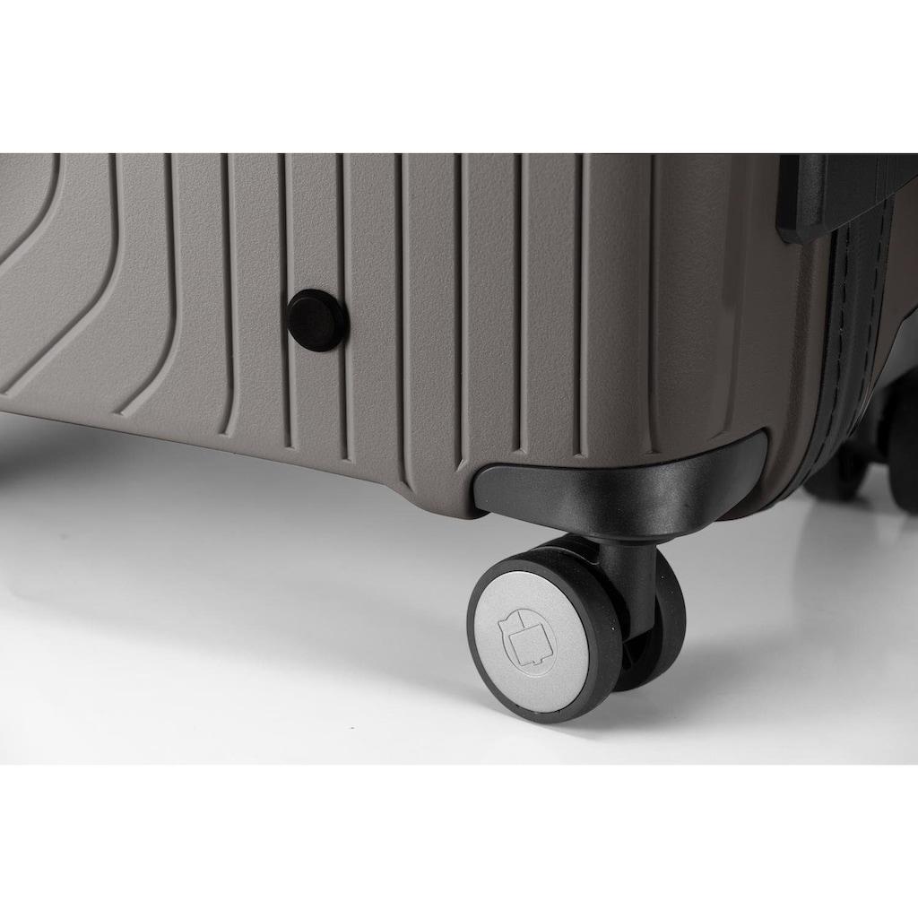 Hauptstadtkoffer Hartschalen-Trolley »TXL, 76 cm, titan«, 4 Rollen