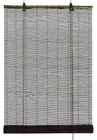 GARDINIA Seitenzugrollo »Bambus-Rollo«, Lichtschutz, mit Bohren, freihängend kaufen