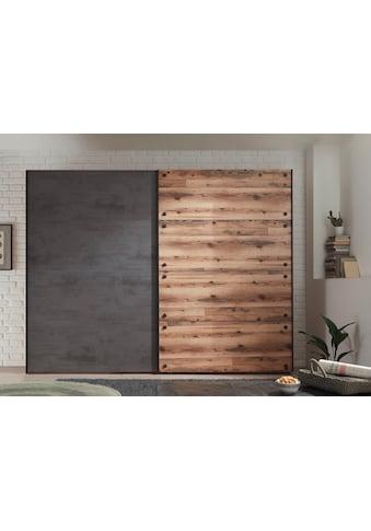 Schlafkontor Schwebetürenschrank »Dover«, im Industrial Design kaufen