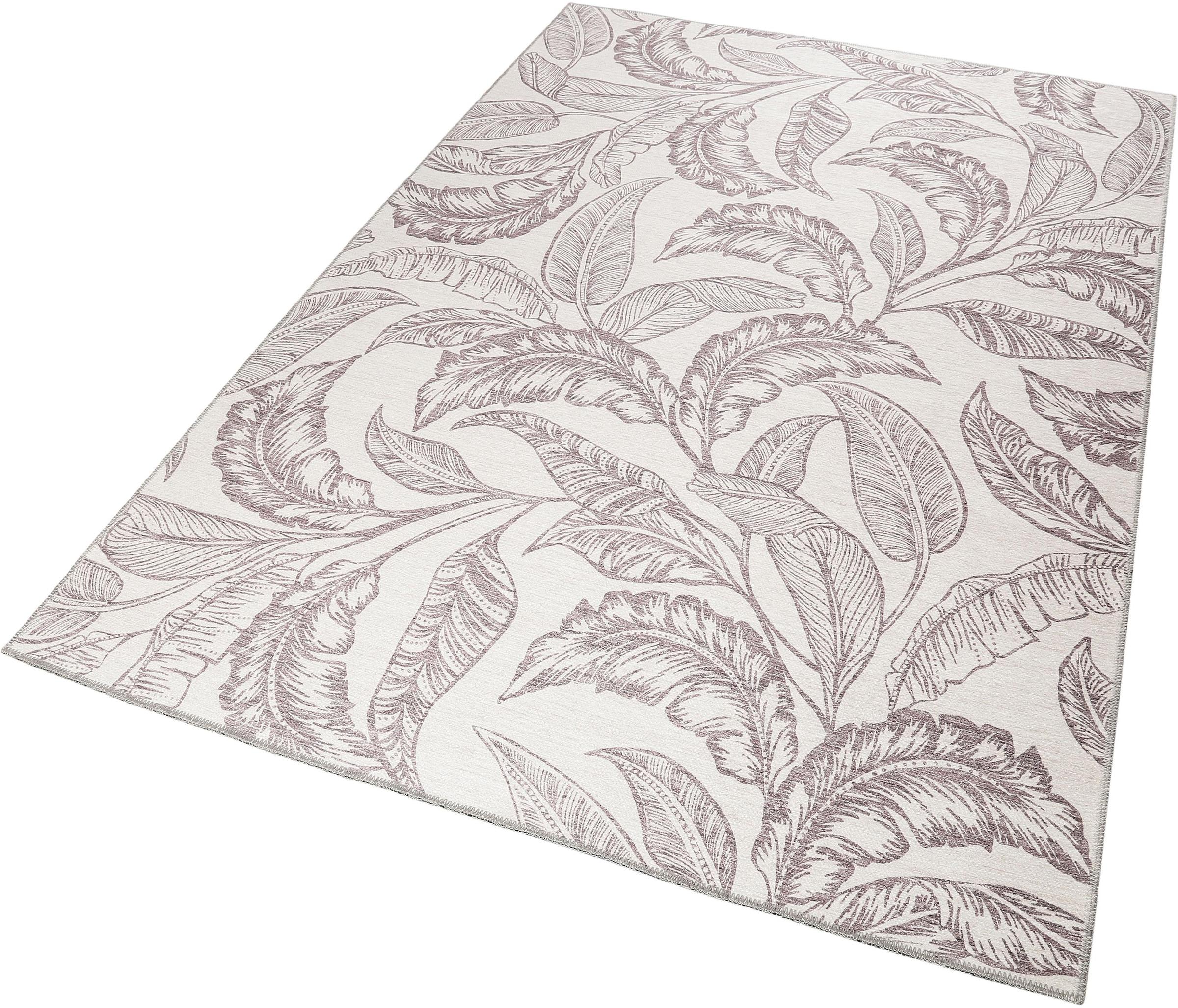 Image of Accessorize Home Teppich »Mozambique Palm«, rechteckig, 6 mm Höhe, Wohnzimmer