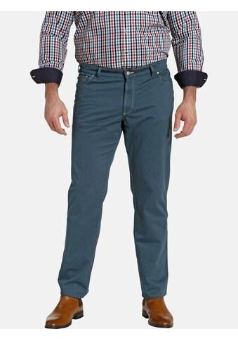Charles Colby 5-Pocket-Hose »BARON ITAN«, mit seitlichem Raffbund kaufen