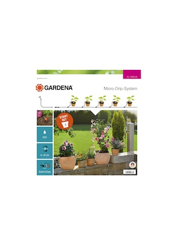 GARDENA Bewässerungssystem »Micro-Drip-System Pflanztöpfe S«, Micro-Drip-System kaufen