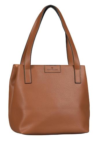 TOM TAILOR Shopper »MIRI ZIP«, mit erweiterbarem Volumen kaufen