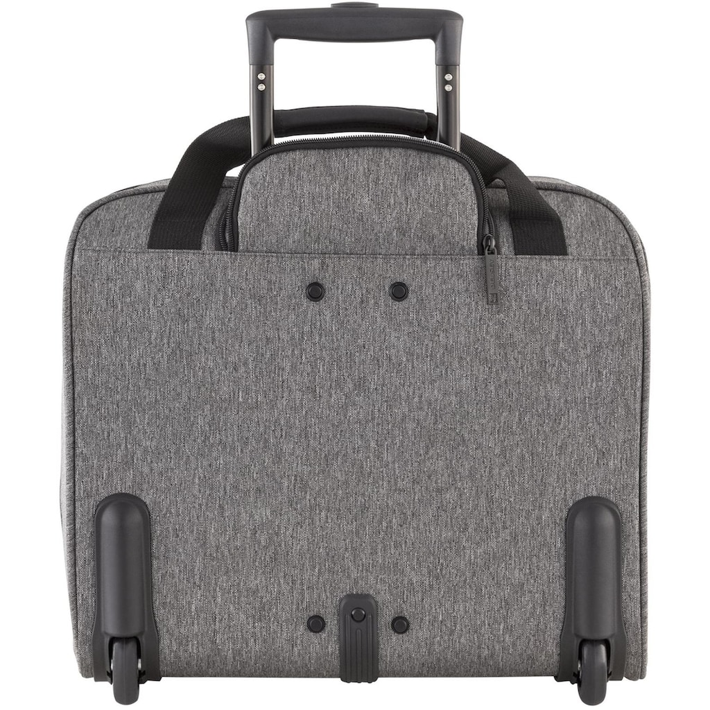 Delsey Business-Trolley »Esplanade, anthrazit«, 2 Rollen, mit 15,6-Zoll Laptopfach