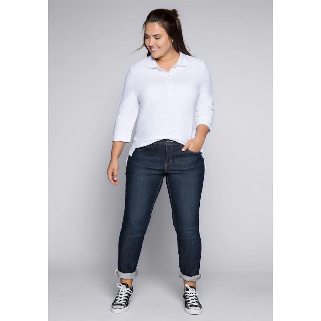 Sheego Stretch-Jeans, KIRA in schmaler Passform