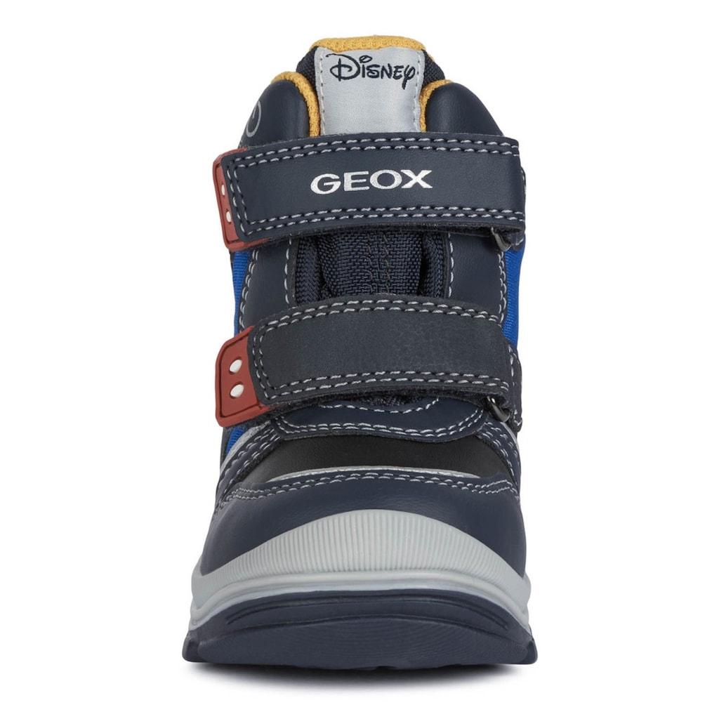 Geox Kids Winterstiefel »Disney Blinkschuh FLANFIL BOY«, mit Blinkfunktion zum An- und Ausschalten