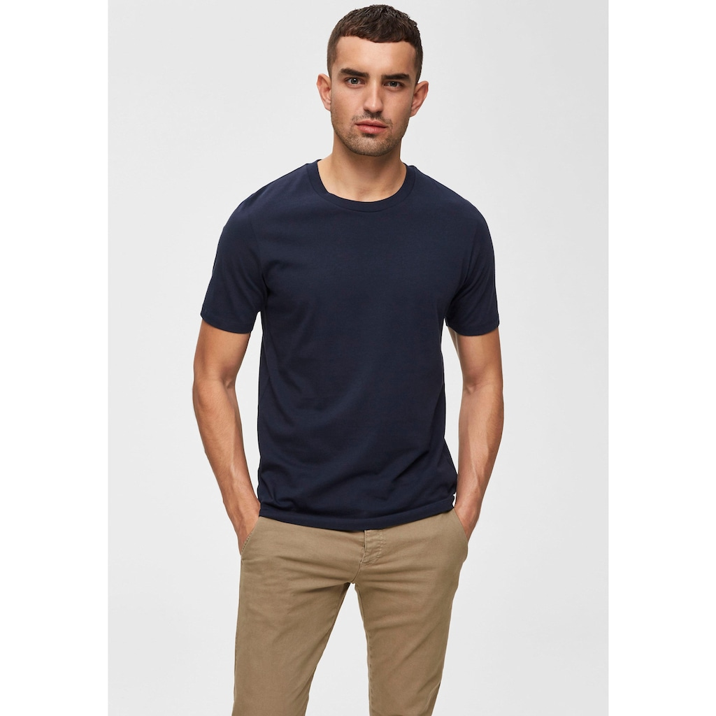 SELECTED HOMME T-Shirt »PERFECT O-NECK TEE«