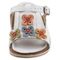 Gemini Pantolette »Crisy«, mit Blütenverzierung
