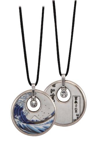 Goebel Kette mit Anhänger »Die Welle, Katsushika Hokusai, 67045021«, mit Strass® Kristallen kaufen