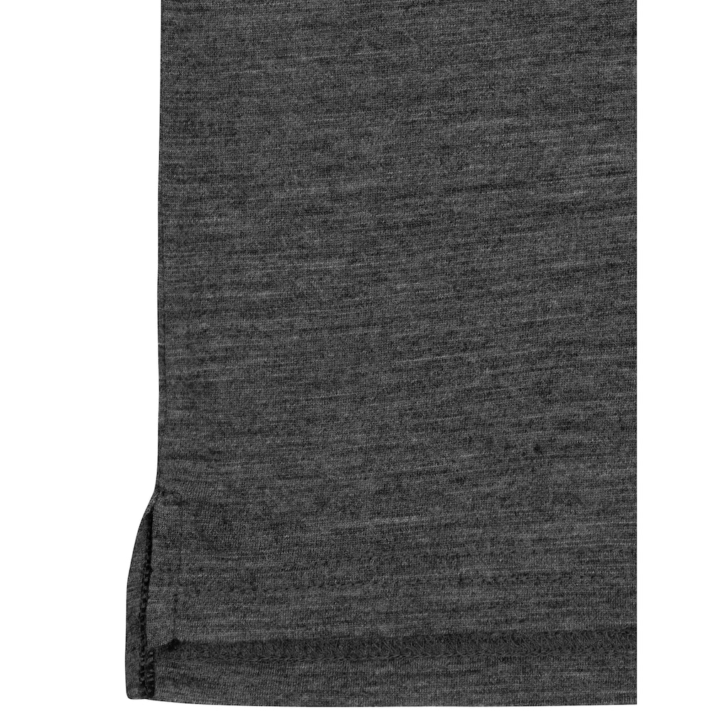 SUPER.NATURAL T-Shirt »M ALPINE MANDER TEE«, pflegeleichter Merino-Materialmix
