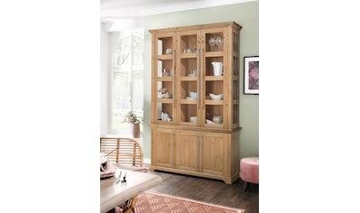 Home affaire Vitrine »Meliss«, Aus Massivholz kaufen