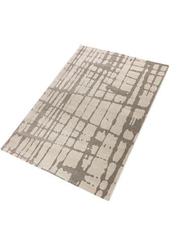 Living Line Teppich »Hector«, rechteckig, 12 mm Höhe, modernes Design, Wohnzimmer kaufen
