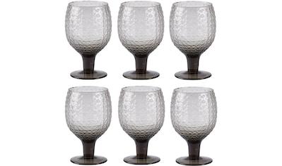 Rotweinglas »Villa Collection Rotweinglas Groove«, (6 tlg.) kaufen