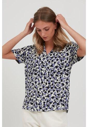 b.young Kurzarmbluse »BYJOSA BLOUSE - 20810144«, Gemustertes Blusenshirt mit Halbarm kaufen