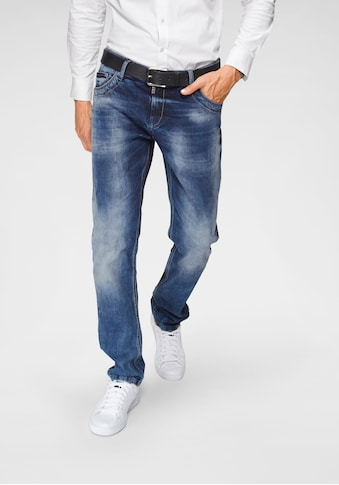 Cipo & Baxx Straight - Jeans »Red Dot« kaufen