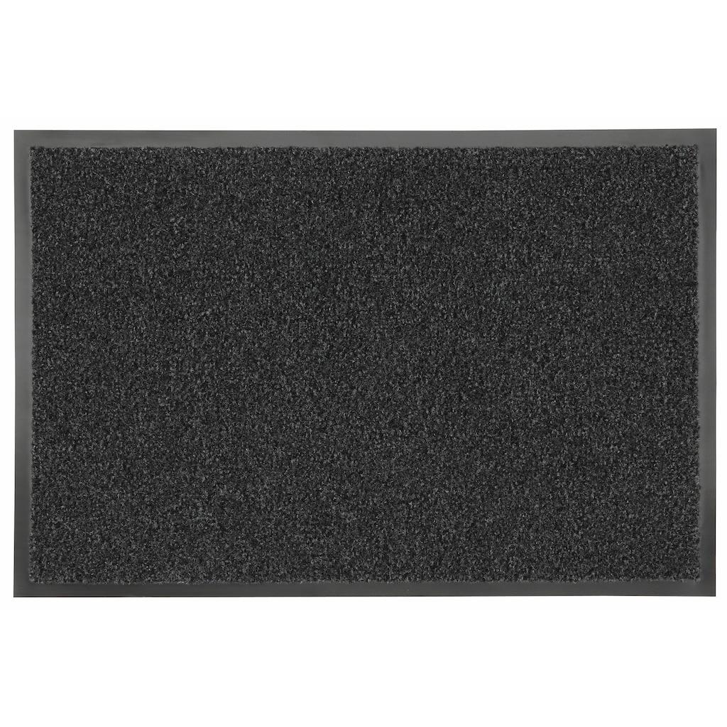 HANSE Home Fussmatte »Green&Clean«, rechteckig, 8 mm Höhe, Schmutzfangmatte, rechteckig