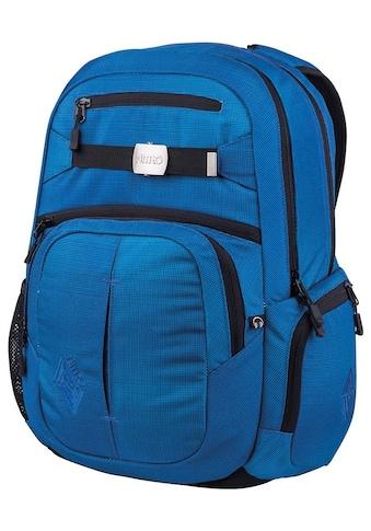NITRO Schulrucksack »Hero, Blur Brilliant Blue«, mit Laptopfach kaufen
