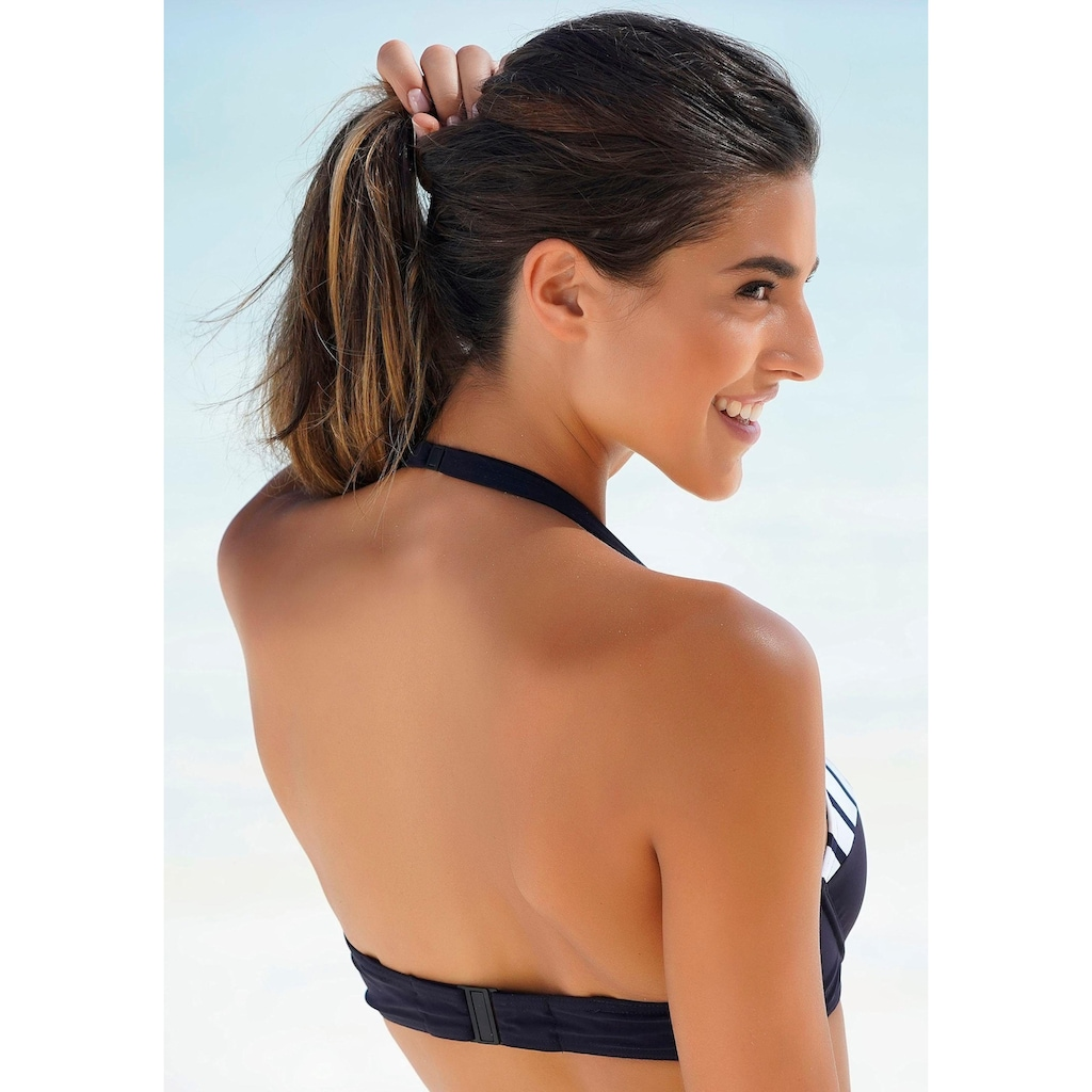 Sunflair Bügel-Bikini, mit Wattierung und gestreiften Einsätzen