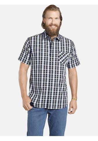 Jan Vanderstorm Kurzarmhemd »JABBE«, luftige Seersucker Qualität kaufen