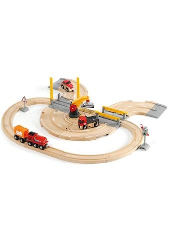 BRIO® Spielzeugeisenbahn-Erweiterung »Brio WORLD Strassen & Schienen Kran Set«, (Set),... kaufen