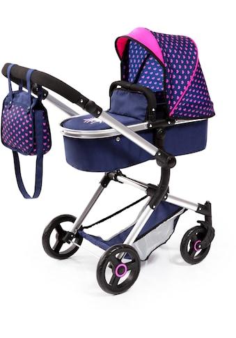 """Bayer Kombi - Puppenwagen """"Vario, Blau/Pink"""" kaufen"""