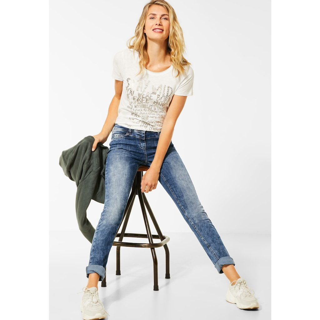 Cecil Loose-fit-Jeans, 4-Pocket Style