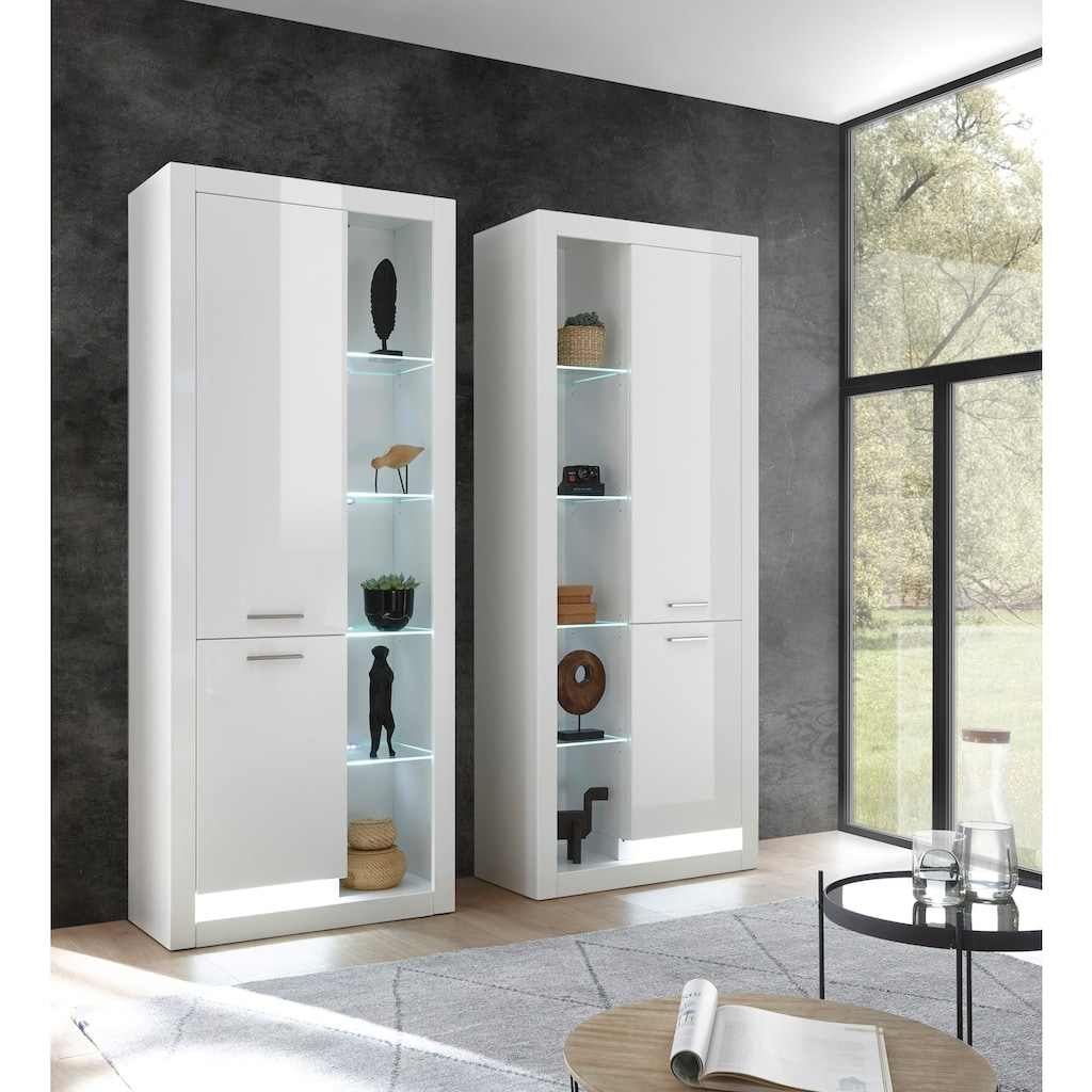 Places of Style Vitrine »MERAN«, im modernen Design
