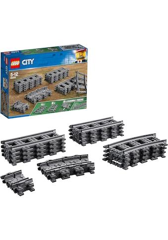 """LEGO® Konstruktionsspielsteine """"Schienen (60205), LEGO® City"""", Kunststoff, (20 - tlg.) kaufen"""