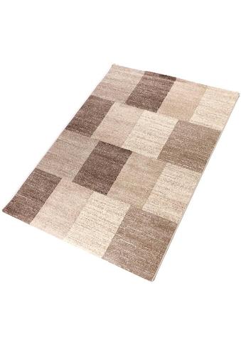 Living Line Teppich »Carlo 2«, rechteckig, 12 mm Höhe, modernes Design, Wohnzimmer kaufen