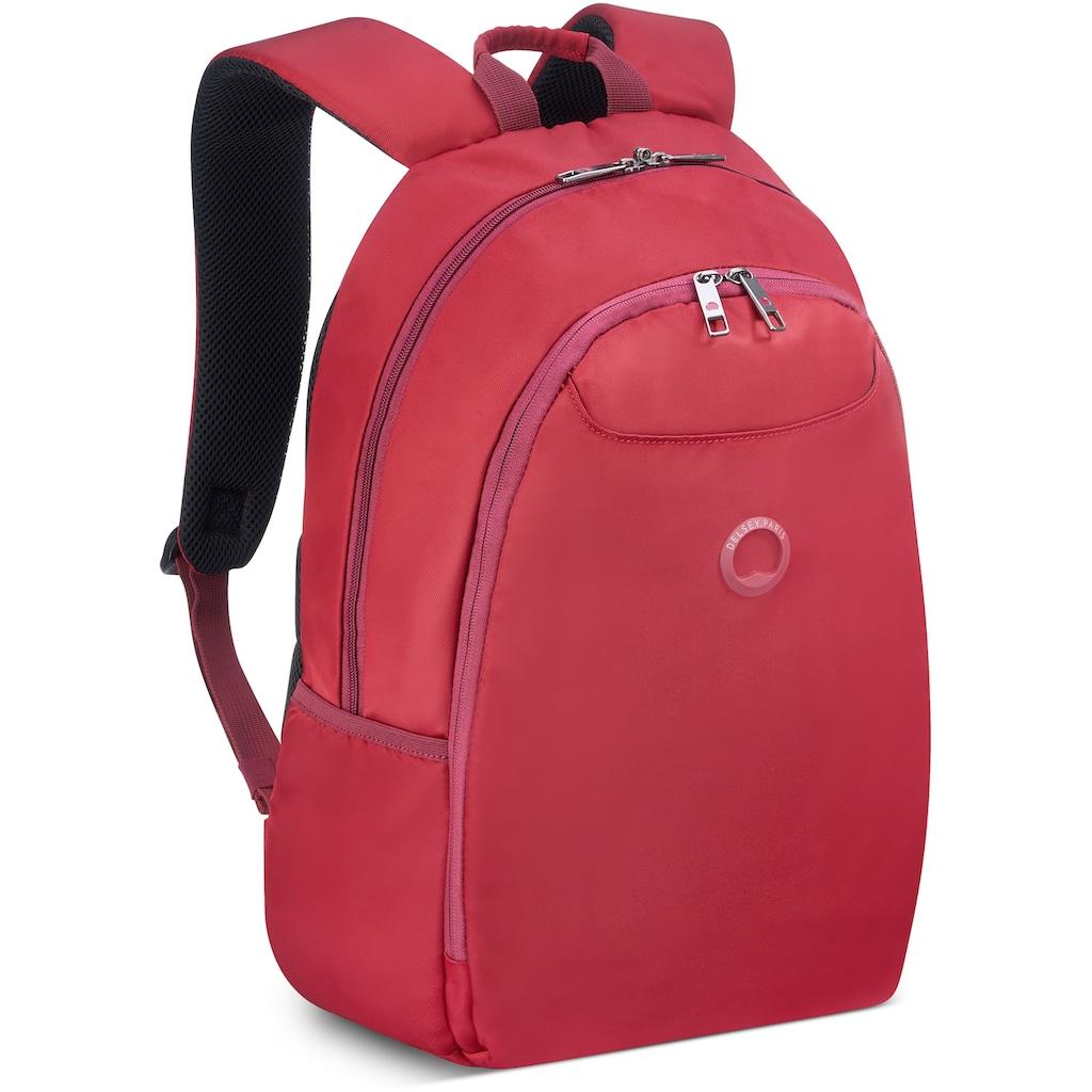 Delsey Laptoprucksack »Esplanade, red«