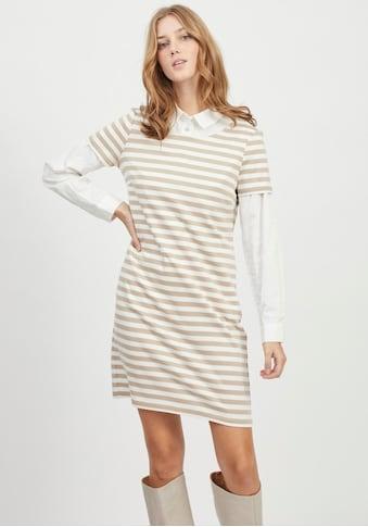 Vila Jerseykleid »VITINNY«, im Allover Streifendesign kaufen