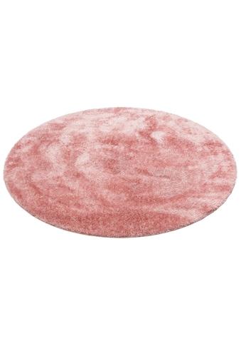 Home affaire Hochflor-Teppich »Malin«, rund, 43 mm Höhe, Shaggy, Uni Farben, leicht... kaufen