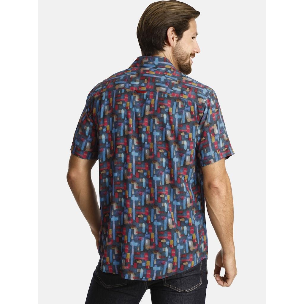Charles Colby Kurzarmhemd »DUKE NIGEL«, aus sommerlicher Viskose
