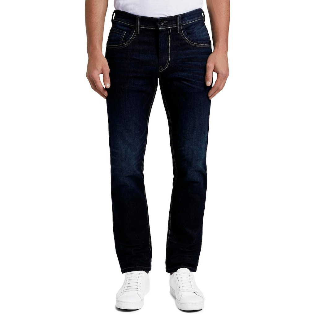 TOM TAILOR Straight-Jeans »Marvin«, 5-Pocket-Jeans