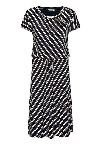 fransa Jerseykleid »Fransa Kurzes Kleid mit Tunnelzug«, Kurzes Kleid mit Schnürung kaufen