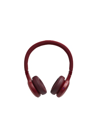 JBL On-Ear-Kopfhörer »LIVE 400BT Rot«, Sprachsteuerung kaufen