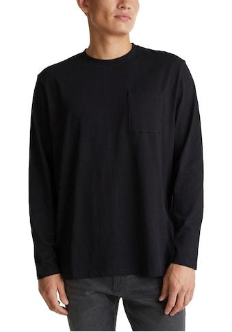 edc by Esprit Langarmshirt, schlichter Allrounder kaufen