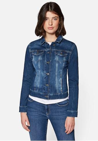 Mavi Jeansjacke, in angesagter Used-Waschung kaufen