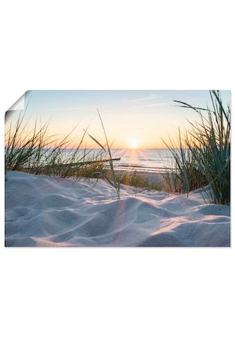 Artland Wandbild »Ostseestrand«, Strand, (1 St.), in vielen Grössen & Produktarten -... kaufen